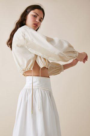 Zara Cropped-bluse – limited edition studio
