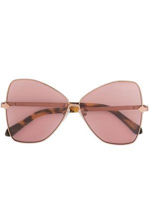 Karen Walker Queen oversized sunglasses