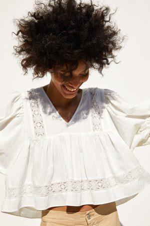 Zara Hemd aus festem stoff