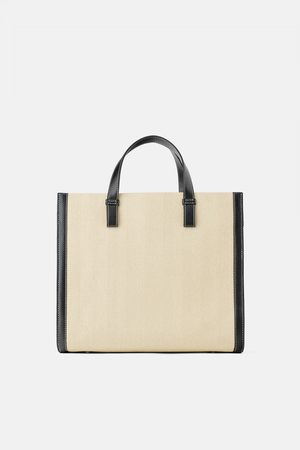 Zara Canvas tote bag