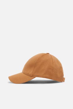 Zara Damen Caps - Baseballcap mit strukturmuster