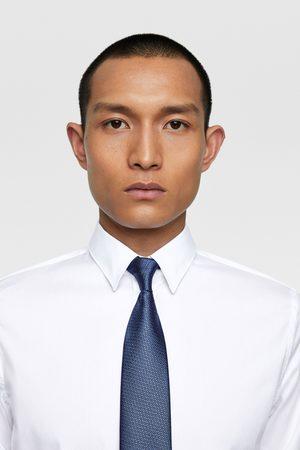 Zara Herren Krawatten - Breite krawatte mit strukturmuster