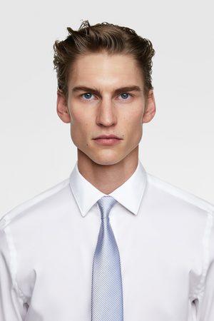 Zara Breite zweifarbige krawatte