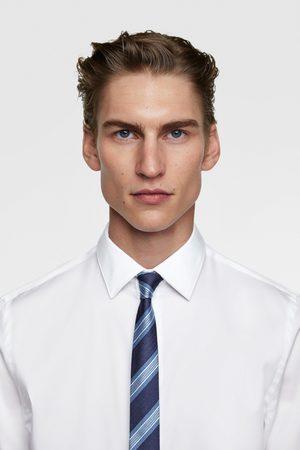 Zara Schmale krawatte mit streifen