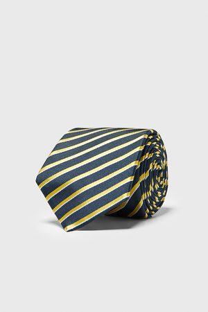 Zara Herren Krawatten - Breite krawatte mit streifen