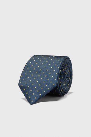 Zara Herren Krawatten - Breite krawatte mit tupfen