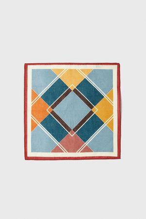 Zara Einstecktuch mit geometrischem print