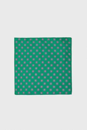 Zara Einstecktuch mit krawattenprint