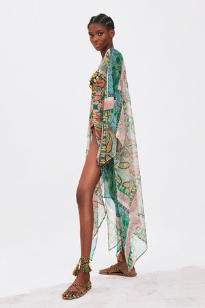 Zara Kimono mit print