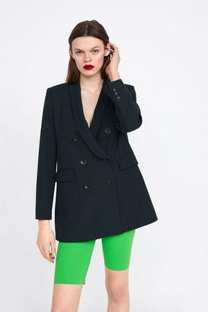 Zara Damen Shorts - Radlerhose in neonfarbe