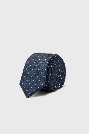 Zara Herren Krawatten - Schmale krawatte mit tupfen
