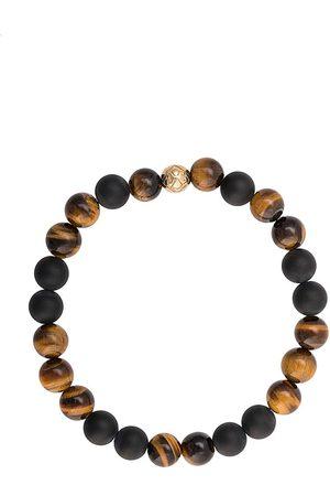 Nialaya Herren Armbänder - Elasticated stone bracelet