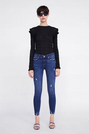 Zara Skinny-jeans zw premium in zaphire blue