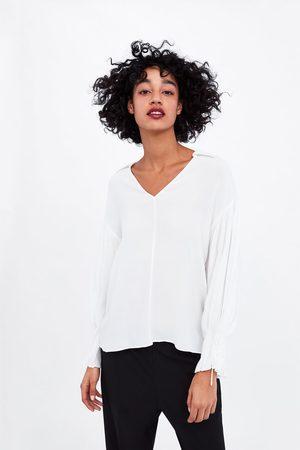 Zara Fliessende bluse