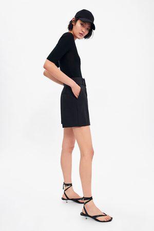Zara Bermudashorts mit gürtel