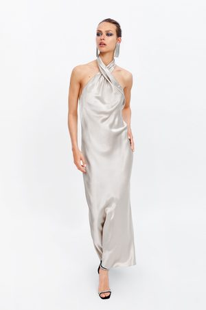 Zara Damen Kleider - Neckholder-kleid – limited edition