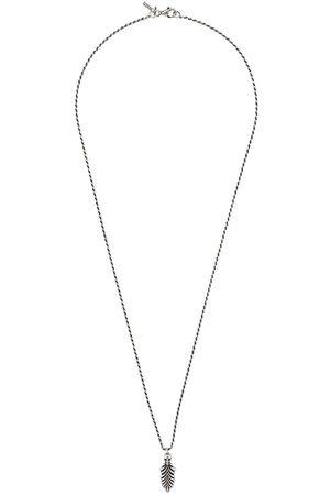 EMANUELE BICOCCHI Halsketten - Skull & Feather necklace