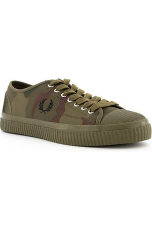 Fred Perry Herren Sneakers - Schuhe Camoflage Hughes Low B5168/H46