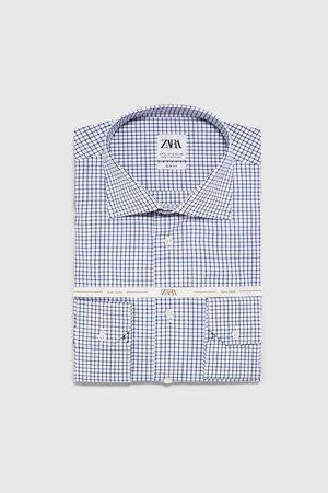 Zara Kariertes hemd – premium