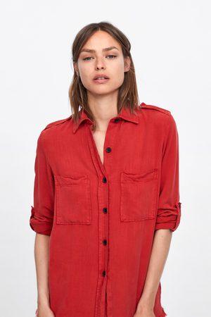 Zara Hemd mit taschen