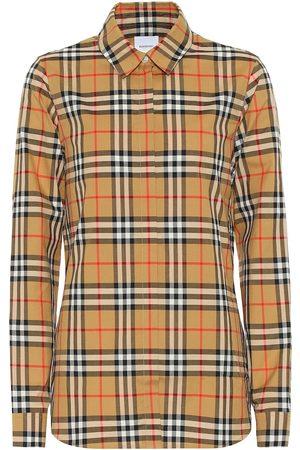 Burberry Karierte Bluse aus Baumwolle