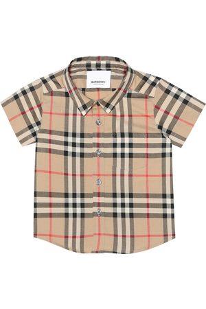 Burberry Baby Blusen - Baby Hemd aus Baumwolle