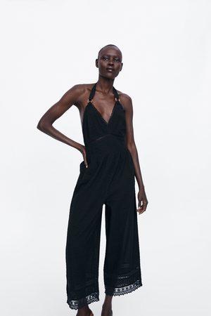 Zara Overall mit plumetis