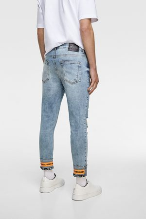 Zara Skinny-jeans mit bändern