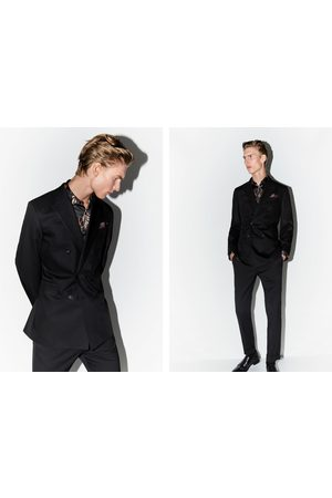 Zara Herren Blazer & Sakkos - Doppelreihiger blazer