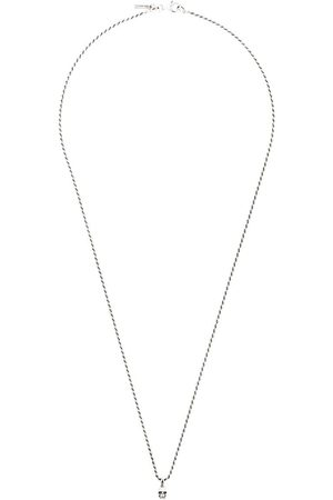 EMANUELE BICOCCHI Skull chain necklace