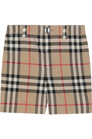 Burberry Baby Shorts aus Baumwolle