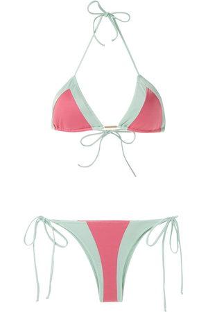 Brigitte Damen Bikinis - Two-tone bikini set