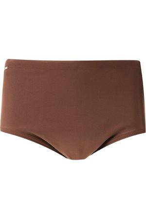 AMIR SLAMA Plain swim trunks