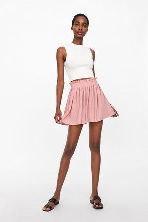 Zara Plissée-shorts