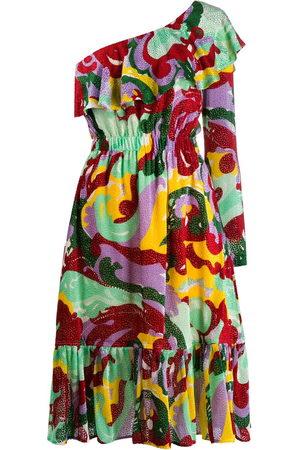 La DoubleJ Damen Asymmetrische Kleider - Boogie one shoulder dress