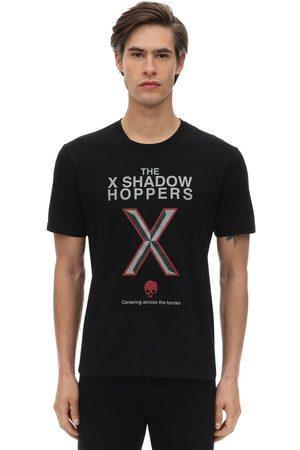 UNDERCOVER Bedrucktes T-shirt Aus Baumwolljersey