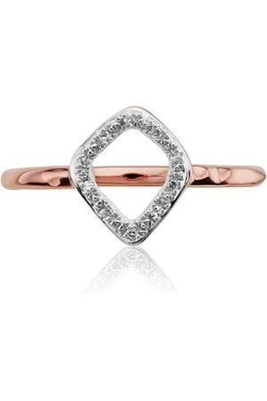 Monica Vinader Riva Mini Kite Stacking Diamond ring
