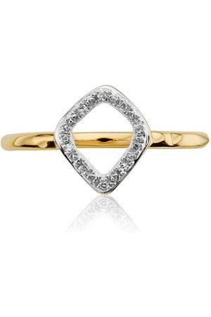 Monica Vinader Damen Ringe - Riva Mini Kite Stacking Diamond ring