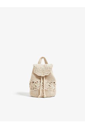 Zara Häkel-rucksack