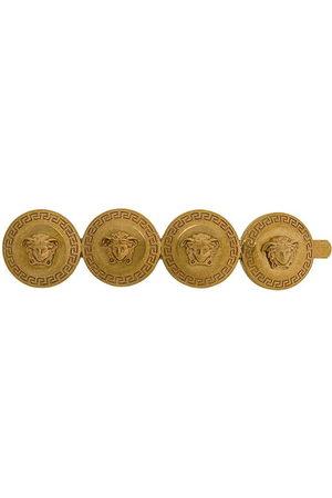 VERSACE Medusa coin brooch