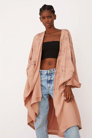 Zara Bestickter kimono – limited edition