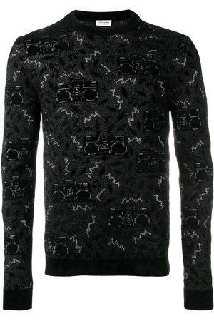 Saint Laurent Knit jacquard sweater