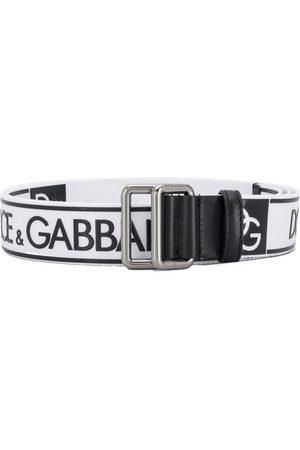 Dolce & Gabbana Herren Gürtel - Logo printed belt