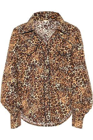 JOHANNA ORTIZ Bedruckte Bluse aus Baumwolle