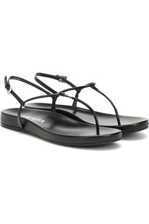 Prada Sandalen aus Leder
