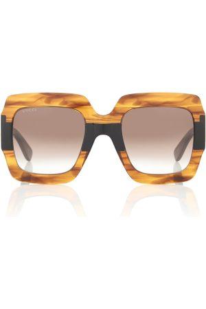 Gucci Damen Sonnenbrillen - Eckige Sonnenbrille