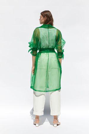 Zara Organza-trenchcoat