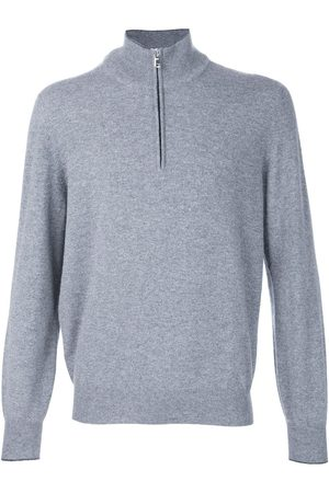 Brunello Cucinelli Herren Sweatshirts - Half zip sweater