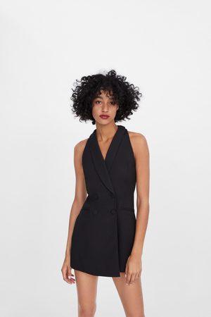 Zara Blazer-overall mit knöpfen