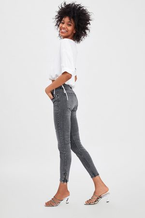 Zara Jeans mid rise skinny compact